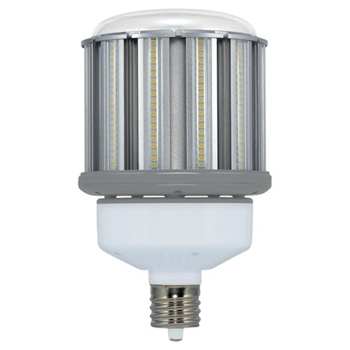 Satco S8715 - 80 Watt - LED HID Replacement - 5000K Natural Light - Mogul Extended Base - 10640 Lumens - 277-347V