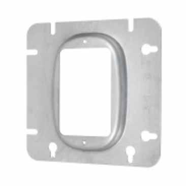 """VISTA 20133 - 4 11/16"""" Square Cover - 1 Device - Raised 1/2"""" - REF# 72C13 - 10 Pcs"""