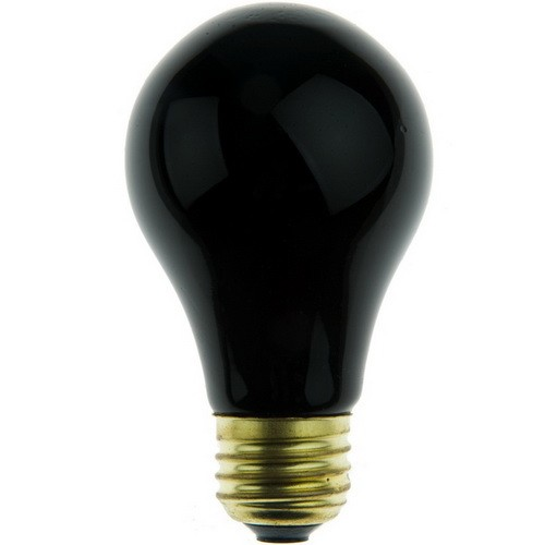 OEM Brand - 75W A19 Black Light - Medium E26 Base - 130V