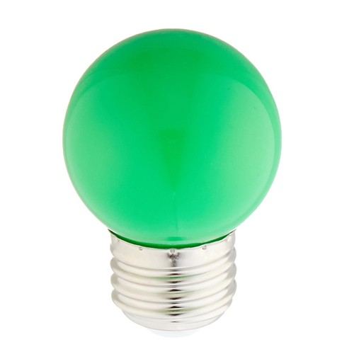 Bulbrite 770152 - 1W - G14 Bulb Type - Specialty Colors - E26 Base - 120V - Green - 10 Packs