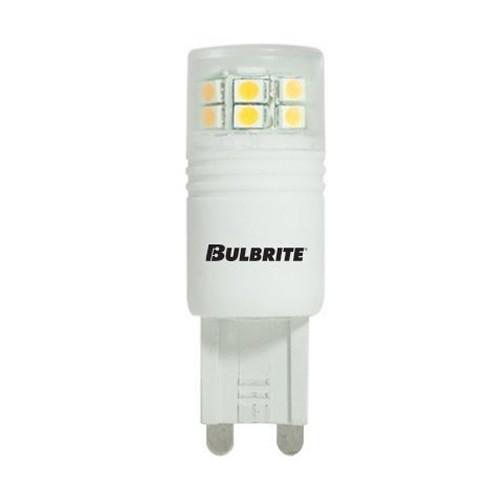 Bulbrite 770550 - 2.5W - T4 Bulb Type - G9 Base - 250 Lumens - 120V - 3000K Soft White - 5 Packs