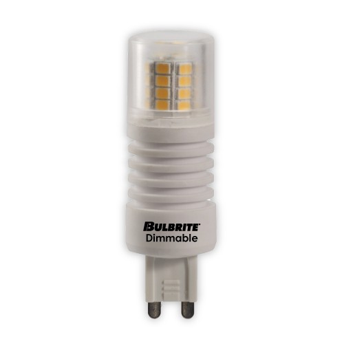 Bulbrite 770553 - 5W - T4 Bulb Type - G9 Base - 350 Lumens - 120V - 3000K Soft White - 5 Packs