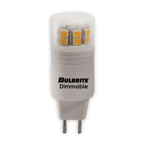Bulbrite 770560 - 3W - T4 Bulb Type - GY6 Base - 350 Lumens - 120V - 3000K Soft White - 5 Packs
