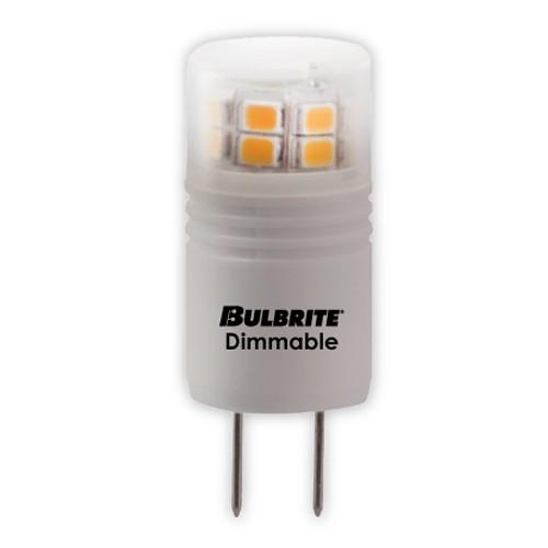 Bulbrite 770570 - 3W - T4 Bulb Type - G8 Base - 270 Lumens - 120V - 3000K Soft White - 5 Packs