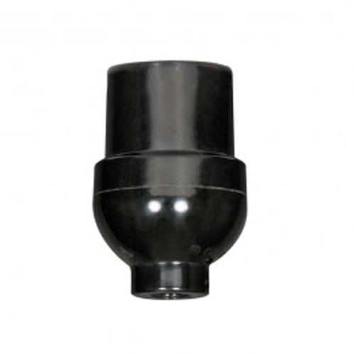 Satco 80-1111 - Socket with Plastic Bushing - 660 Watts - 250 Volts - 1/8 IPS Cap - Less Set Screw