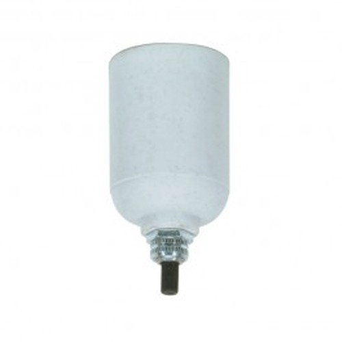 Satco 80-1157 - Porcelain Bottom Turn Knob Socket - 660 Watts - 250 Volts - CSSNP Screw Shell - 1/8 IPS Cap