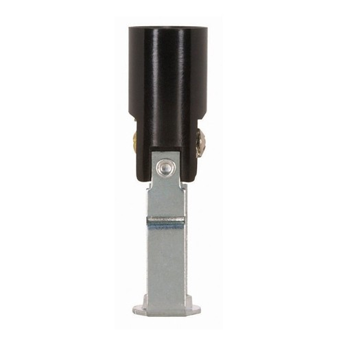 Satco 80-1347 - Phenolic Candelabra Sockets with Paper Liner - 75 Watts - 125 Volts -  With Set Screw