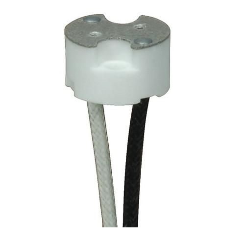 Satco 80-1873 - G8 Porcelain Halogen Socket - 1000 Watts - 250 Volts - With Set Screw