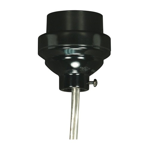 Satco 80-2064 - Smooth Phenolic 3 Piece Keyless Socket with Leads - 660 Watts - 250 Volts - 1/8 IPS Cap