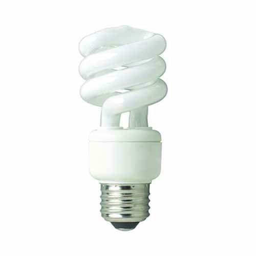 Shat-r-Shield 87652T - CFL 14W Mini Twist 5000K Daylight Medium Base 120V - 10 PACK