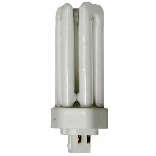 Shat-r-Shield 87658T - CFL-T 18W 3000K Warm White GX24q-2 4Pin Base - 10 PACK
