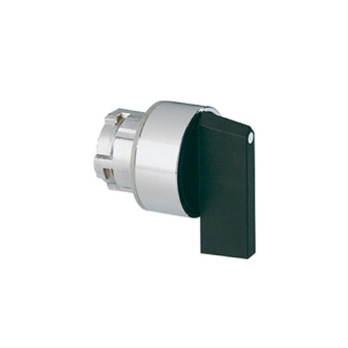 Lovato 8LM2TS230 - SELECTOR SWITCH ACTUATOR LEVER - Ø22MM 8LM METAL SERIES - 3 POSITION - 1 - 0 - 2
