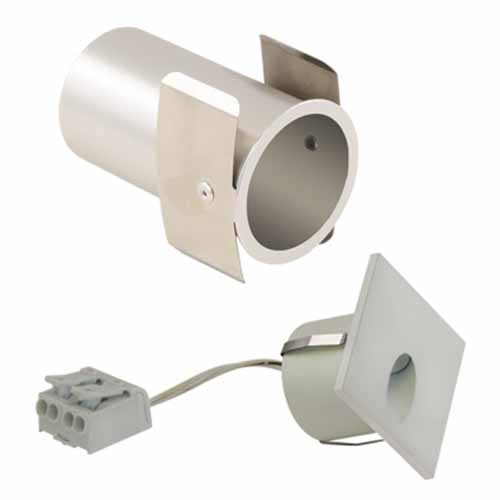 Liteline WLTDS-1W30K-FWH - LED Tear Drop Square Wall Light - 1.4W - 3000K - 45° Beam Spread - Flat White