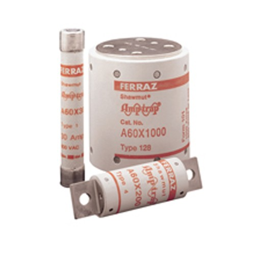 Mersen A60X80-4 - Semiconductor Protection Fuse - High-Speed - Fast Acting - 600V - 80 Amp