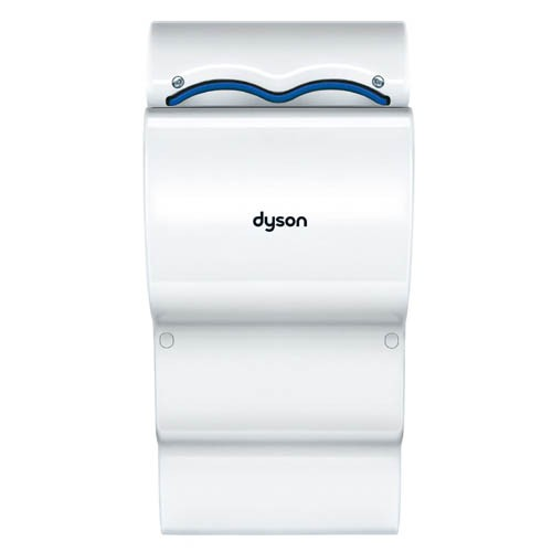 Dyson Airblade DB Hand Dryer AB14 120V 60Hz - Polycarbonate ABS Casing - White - 50% Quieter