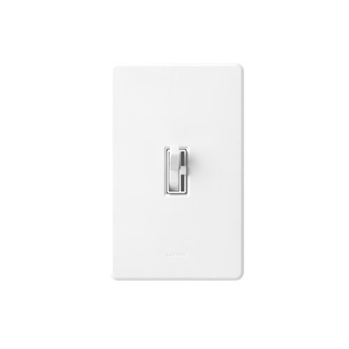 Lutron Ariadni AY-603PH-WH-CSA - 600 Watt - 3-way Incandescent/Halogen Dimmer In Clamshell Packaging - 120V - White