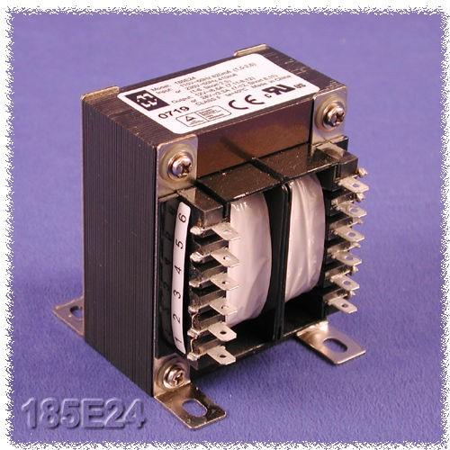 Hammond 185G230 - Power Transformers - Low Voltage Chassis Mount - 175VA - 50/60HZ - Dual primary 115/230 VAC