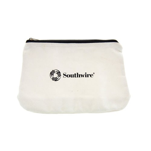 Southwire BAG12 - 12'' Canvas Zipper Tool Bag