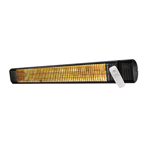 OUELLET CF30240B - New Infrared Patio Heater - OCF Series - 240/208V - 3000/2250W - Wall Mount/Ceiling Mount - heat density:25W/sq.ft. - heat coverage: Up to 120 sq.ft.