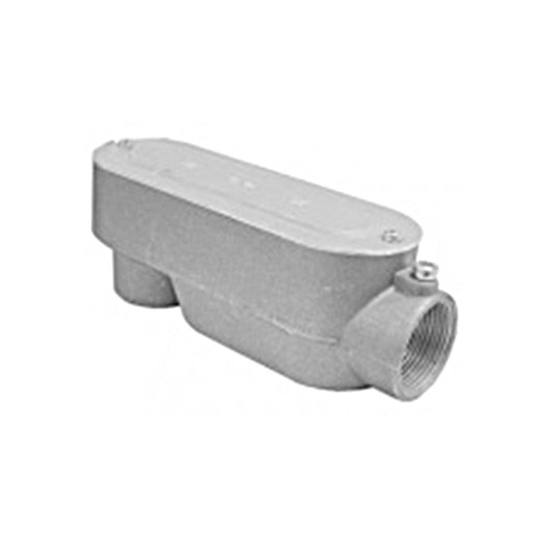 Nesco CLB-15 - 1-1/2'' 'LB' - Combination Conduit Body EMT (Set Screw) / Rigid (Threaded)