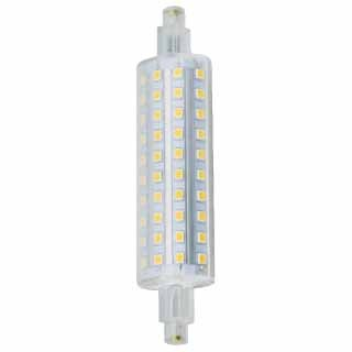CNA - LED 8W J118mm - 3000K Bright White - 650 Lumen - 120VAC - R7s Double Ended Base - Replace Traditional Halogen 100W -150W Lamp
