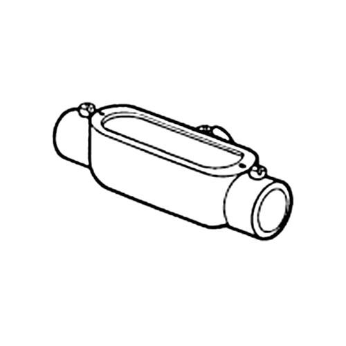 Nesco CT-20 - 2'' 'T' - Combination Conduit Body EMT (Set Screw) / Rigid (Threaded)