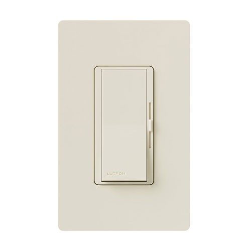 Lutron DV-103P-LA-CSA - Diva - 3-way Incandescent / Halogen Preset Dimmer - 120V - 1000W - Light Almond