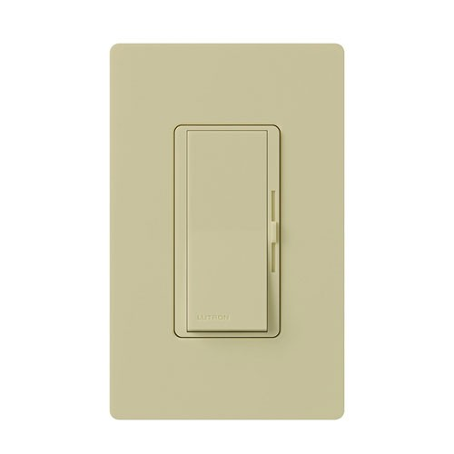 Lutron DV-603PH-IV-CSA - Diva - 3-way Incandescent / Halogen Preset Dimmer In A Clamshell Packaging - 120V - 600W - Ivory