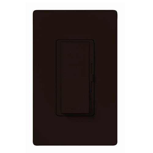 Lutron DVCL-253P-BR - Diva C•L Single Pole/3-way Dimmer - 250W LED/CFL Or 600W Incandescent/Halogen Or 350W Lutron Hi-Lume 'LTE' Drivers - Brown
