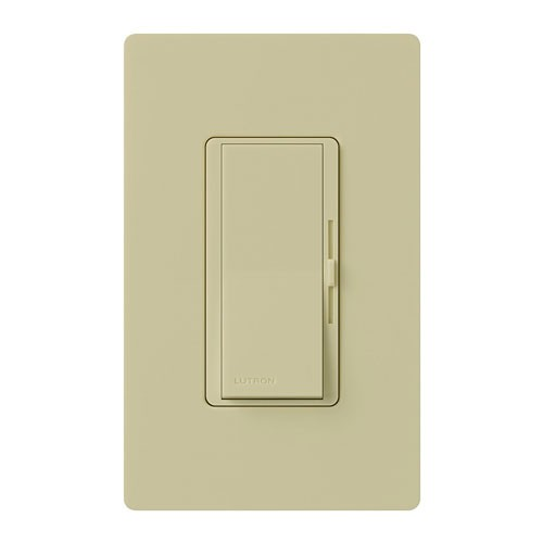 Lutron DVF-103P-IV - Diva Single Pole/3-way - 3-wire Fluorescent Dimmer - 120 V - 8A - Ivory