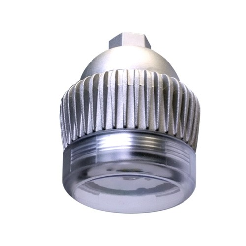 RAB Design DVCS-LED14-B-5K-NAT-FR - 14 Watt - 120-277 Volt - 5000K Daylight - 1400 Lumens - Frosted Lens - Natural Aluminum Finish