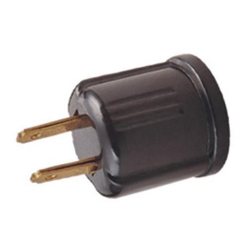 OEM - NEMA1-15P non-ploarized plug to E26 lampholder, rating:125V-660W