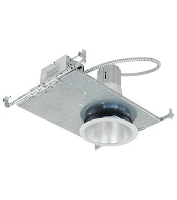 Liteline A4551-120 - A 4″ aperture flat frame-in kit for vertical A or PAR type incandescent lamps
