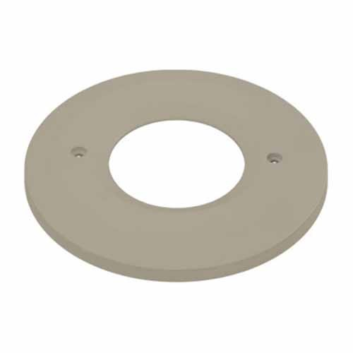 Liteline OSL-OPNR-BN - Open Face Plate for Round LED Outdoor Step Light - Brushed Nickel