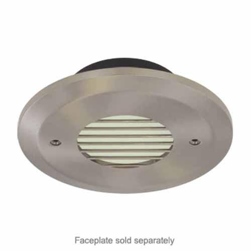 Liteline OSLRD30-30K - Round Outdoor LED Step Light -  3W - 3000°K - 220 Lumens - 120V