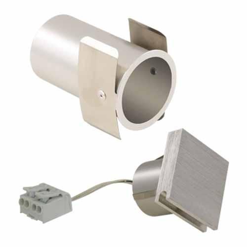 Liteline WLFLS-1W30K-AL - LED Flood Square Wall Light - 1.4W - 3000K - 120° Beam Spread - Brushed Aluminum