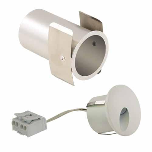Liteline WLTDR-1W30K-FWH - LED Tear Drop Round Wall Light - 1.4W - 3000K - 45° Beam Spread - Flat White