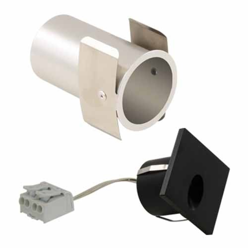 Liteline WLTDS-1W30K-ABK - LED Tear Drop Square Wall Light - 1.4W - 3000K - 45° Beam Spread - Anodized Black