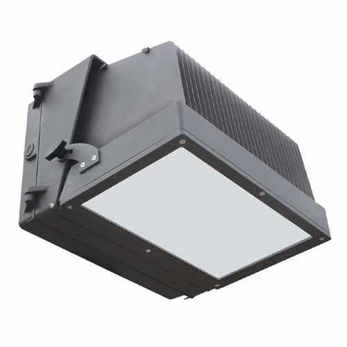 Fotonz - 120W LED Wall Pack - 11475 Lumens - 5000K Daylight - Dark Bronze Finish - 120-277VAC - Adjustable Fixture Distribution Angle
