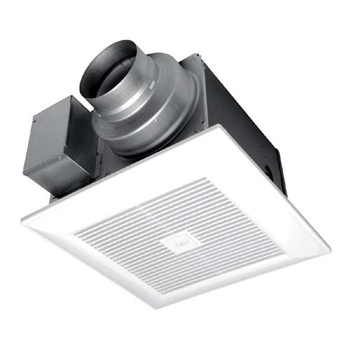 """Panasonic FV-05-11VK1 WhisperGreenSelect Fan - Speed Selector 50, 80 or 110CFM - Integrated dual 4"""" or 6"""" duct adaptor"""