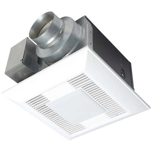 WhisperLite® 80 CFM Ceiling Mounted Fan/Light Combination - Super Quiet <0.3 Sone - Panasonic FV-08VQL6