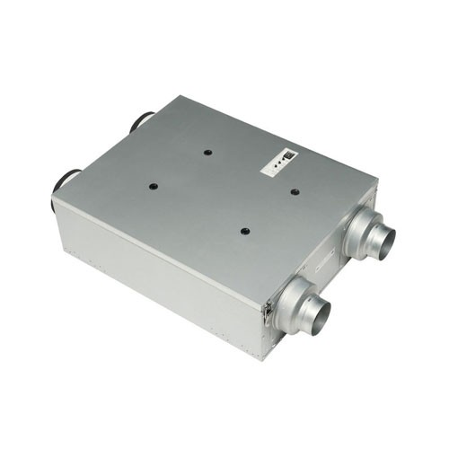 "Panasonic FV-10VE1 Intelli-Balance™ - 50-100 CFM (supply and exhaust) - Four integrated dual 4"" or 6"" duct adapters"