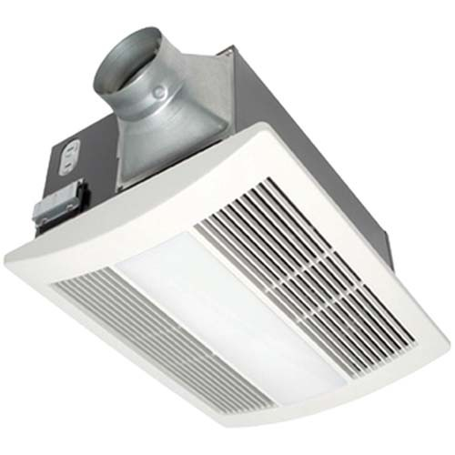 WhisperWarm™ 110 CFM Ceiling Mounted Fan/Heat/Light/Night-Light Combination - Panasonic FV-11VHL2