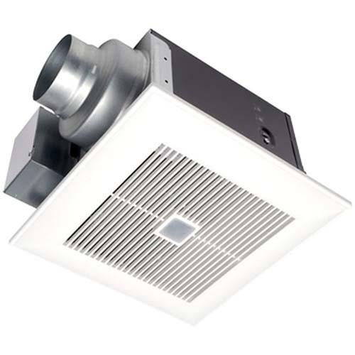 WhisperSense™ 80 CFM Ceiling Mounted Ventilation Fan with Dual Sensor Motion and Humidity Technology - Panasonic FV-08VQC5
