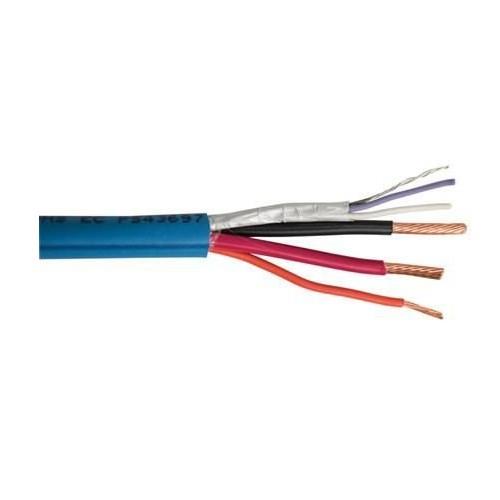 Lutron GRX-CBL-46L-500 - Copper Non-Plenum Low Voltage Cable 12/5 Common 12/5 Power 22/5 MUX Data 18/5 Sense Line 24/5 Drain Wire 500 ft Light Blue/Blue Stripe Grafik Eye