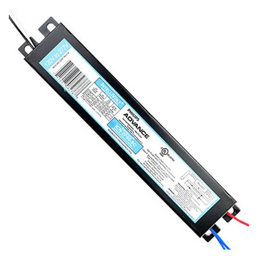 Philips Advance ICN2S40N35M - Centium Electronic T12 Fluorescent Ballasts - Rapid Start - For (1/2) x T12 Fluorescent Lamp - 120-277V