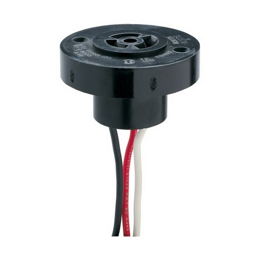 Intermatic K121 - Locking-Type Photo Control Accessory - Receptacle Only