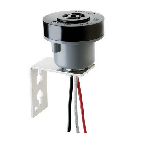 Intermatic K122 - Pole Bracket Adapter Locking-Type Photo Controls Accessory - 105-480 Volt