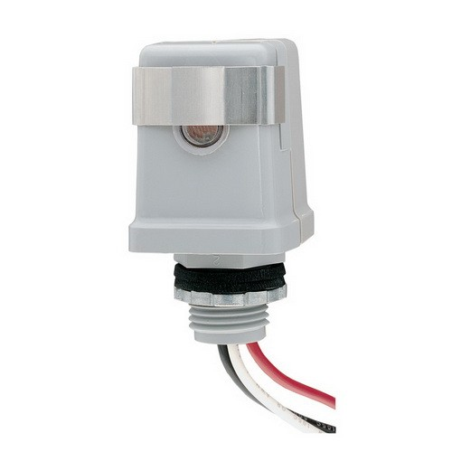 Intermatic K4121C - Photo Control - Thermal Type Photocell - Stem Mounting - Dusk-To-Dawn - 120 Volt