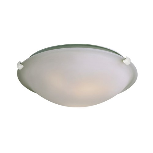 """Galaxy Lighting L680116FW010A1 - LED Flush Mount Ceiling Light - in White finish with Frosted Glass - 16-1/8""""D x 4-7/8""""H"""